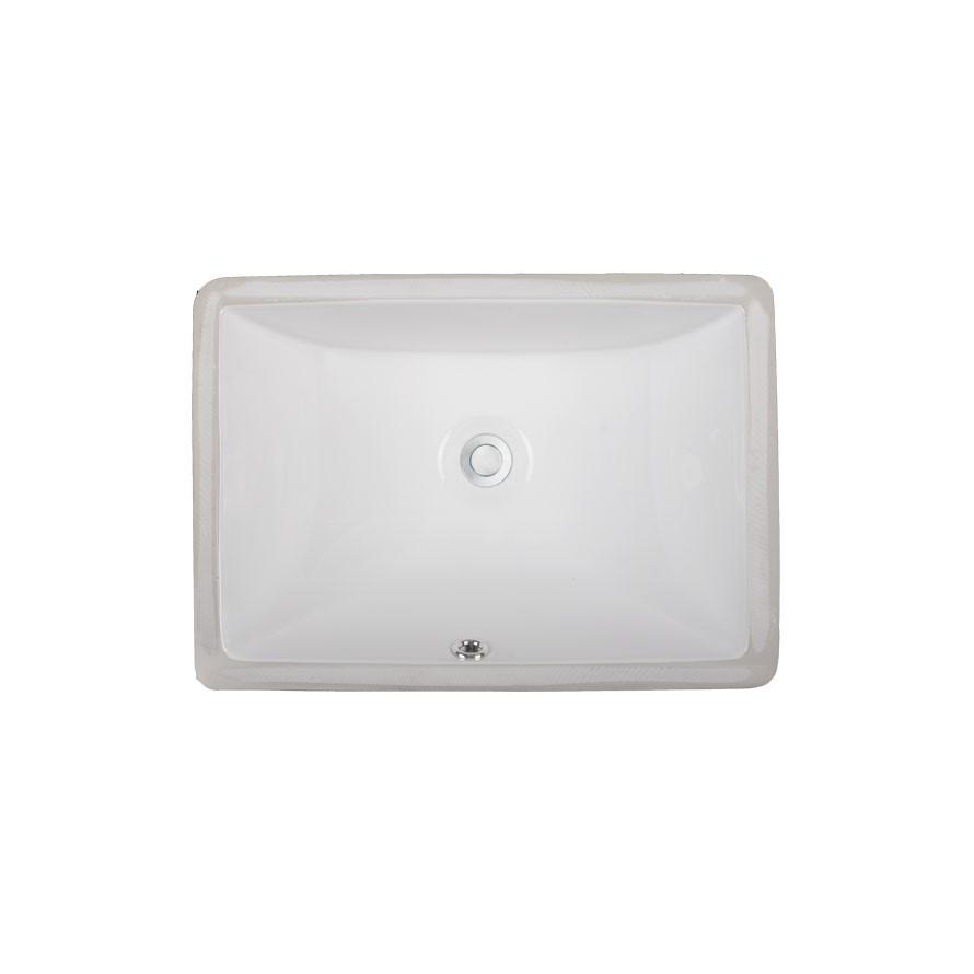 Series UCR50 Undermount Rectangular Porcelain Ceramic