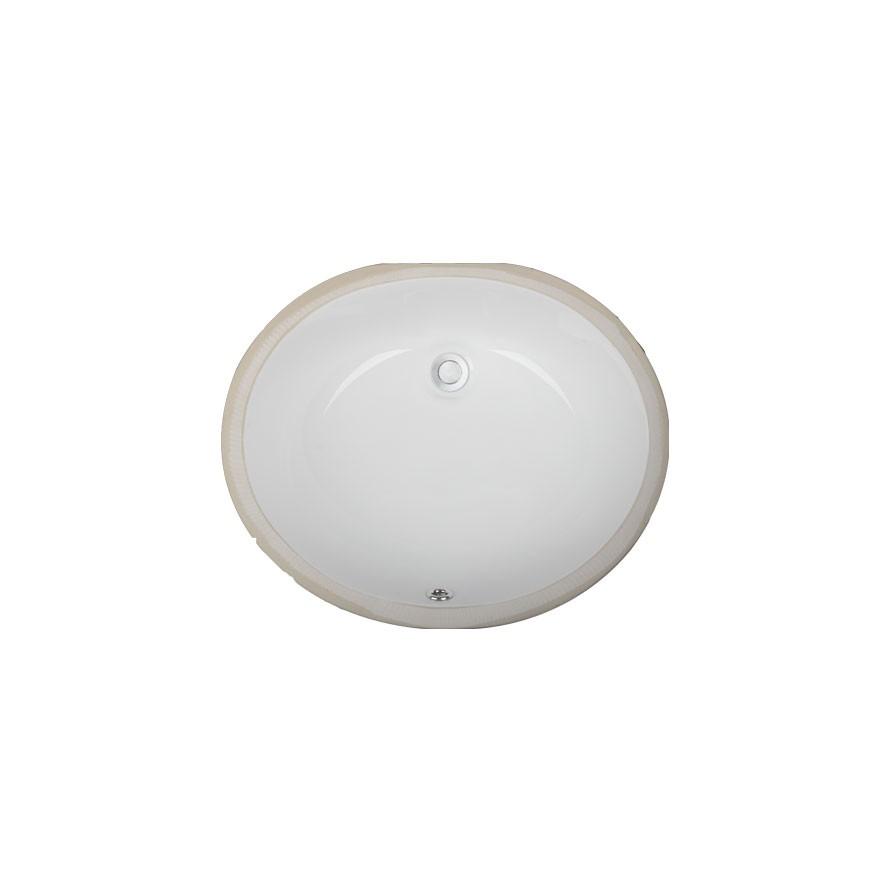 UC10 Undermount Oval Porcelain Ceramic